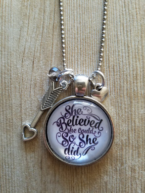 She Believed She Could - Scroll Print - 1