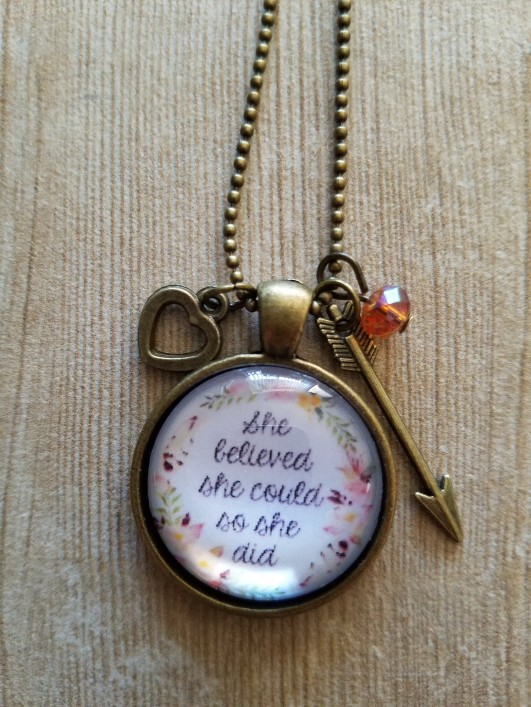 She Believed She Could - Vintage 1