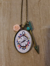 Floral Compass - Large Oval