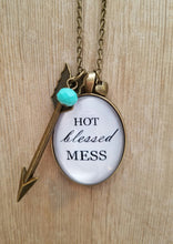 Hot Blessed Mess - Large Oval