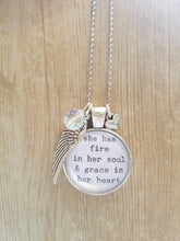 "Fire & Grace - 1"" round"