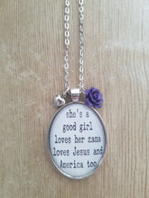She's a Good Girl - Large Oval