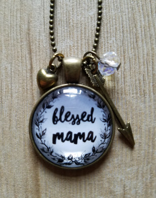 Blessed Mama Floral