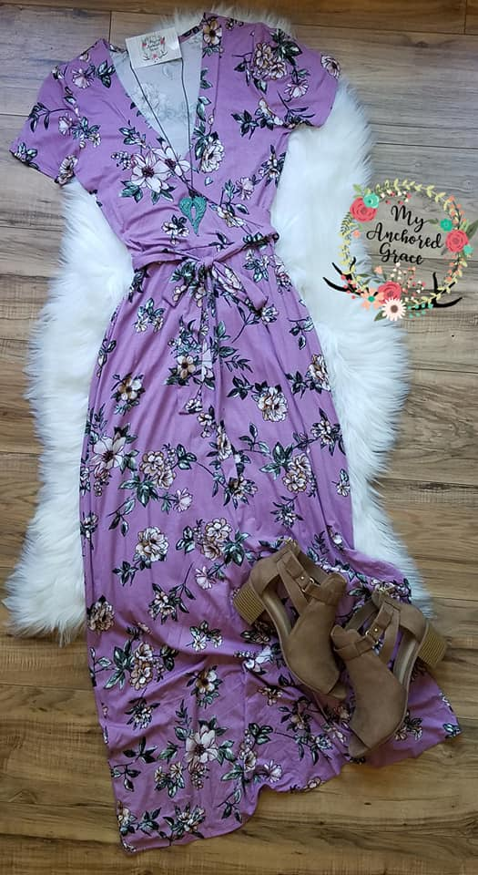 Lovely in Lavender Maxi Dress