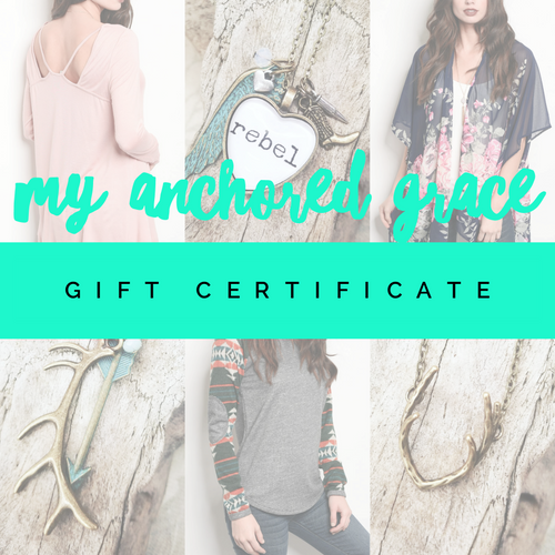 🎁GIFT CERTIFICATE🎁