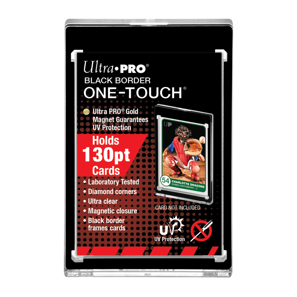 130pt Black Border One Touch Magnetic