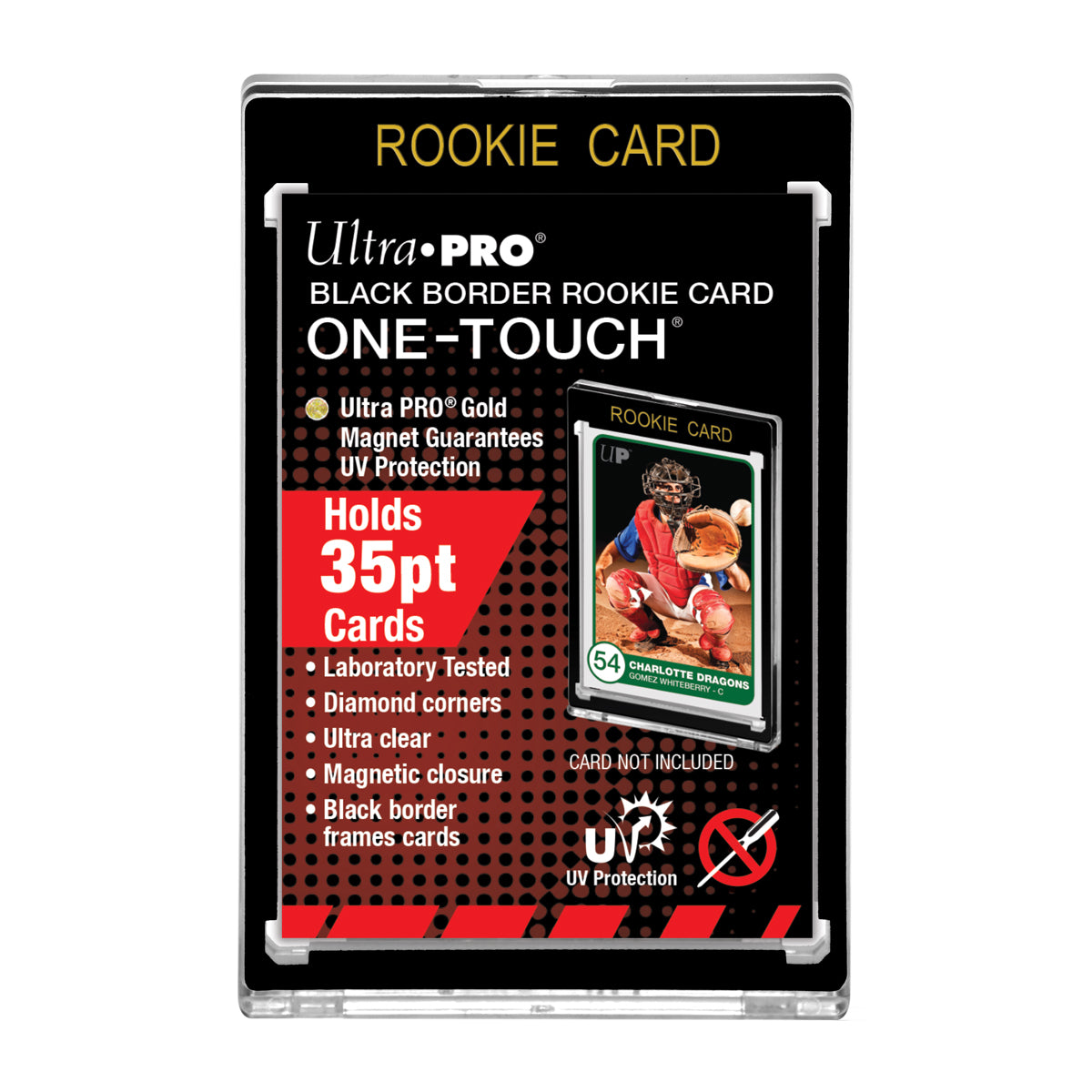35pt Black Border Rookie Card One Touch Magnetic