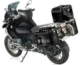Black Rallye Isle of Man Triskilion Pannier Stickers