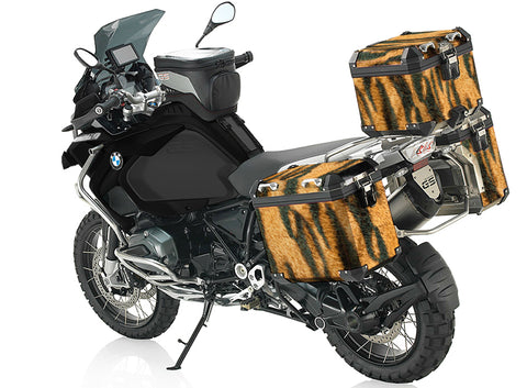 Tiger Stripe Pannier Stickers