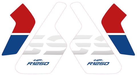 R1250GSA Radiator End Plate (Lunchbox) Decals - ALL COLOURS