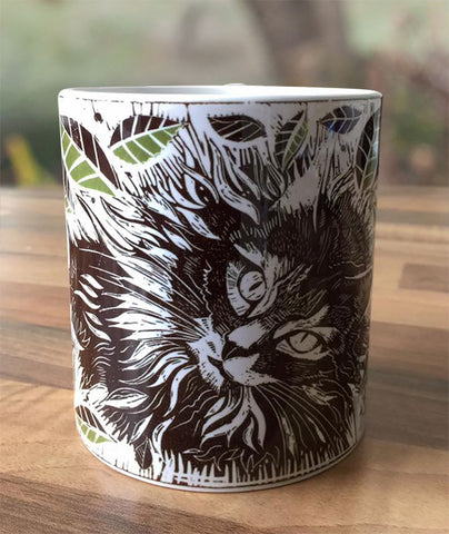 Smokey the Cat Mug