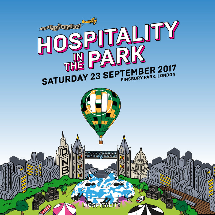 Hospitality in the Park  |  Finsbury Park, London  | 23.09.17