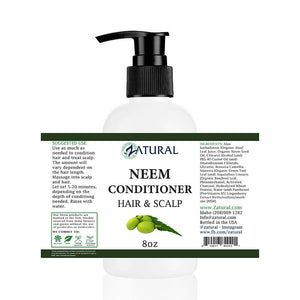 Scalp & Hair Conditioner w/ Organic Neem Oil