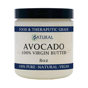 Zatural.com 8 oz Avocado Butter - 100% Organic