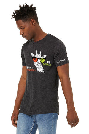 Zatural.com Clothing UltraSoft Hemp T Shirt - Giraffe - Think Different!
