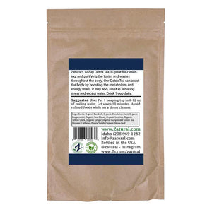 Zatural.com Detox Organic Detox Tea (10 day or 30 day bag)