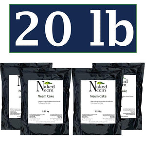Zatural.com Fertilizer 20 lb Neem Cake Organic Fertilizer