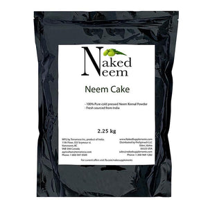 Zatural.com Fertilizer 5 lb Neem Cake Organic Fertilizer
