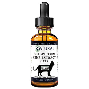 Zatural.com Full Spectrum Hemp Extract for Cats