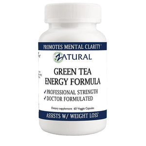 Zatural.com Health and Wellness 1 Bottle Green Tea Capsules