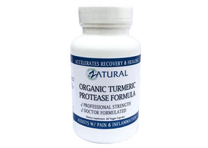 Zatural.com Health and Wellness 1 Bottle Organic Turmeric