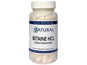 Zatural.com Health and Wellness 90 Count Betaine HCl (Betaine Hydrochloride Acid)