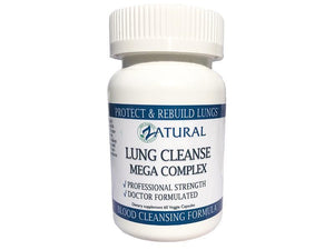 Zatural.com Health and Wellness Lung Cleanse and Support - Professional Strength
