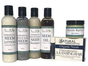 Zatural.com Health and Wellness Neem Gift Set