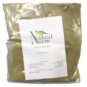 Zatural.com Health and Wellness Neem Leaf Powder 1 Pound Organic Neem Leaf - Whole & Powder