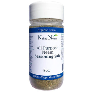 Zatural.com Healthy Salts Organic Seasoning Salt w/ Neem Leaf All Purpose Neem Seasoning Salt