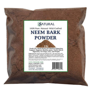 Zatural.com Oral Care 1lb Neem Bark Powder