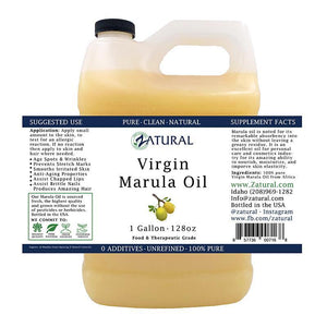 Zatural.com Therapeutic Oil 1 Gallon Marula Oil - 100% Virgin
