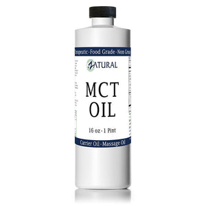 Zatural.com Therapeutic Oil 16oz MCT Oil