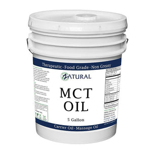 Zatural.com Therapeutic Oil 5 Gallon MCT Oil