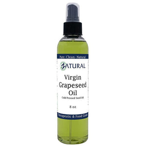 Zatural.com Therapeutic Oil 8oz GrapeSeed Oil - 100% Virgin