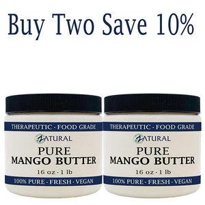 Zatural.com Therapeutic Oil Buy 2 SAVE 10% Mango Butter-100% Pure