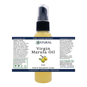 Zatural.com Therapeutic Oil Marula Oil - 100% Virgin