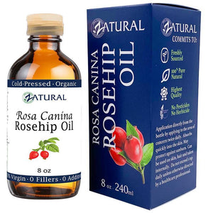 Zatural.com Therapeutic Oil Rosa Canina Organic Rose hip Oil - Cold Pressed