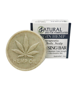 Zatural.com Therapeutic Skin Care 1 bar Organic Soap w/ Hemp Seed Oil