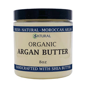Zatural.com Therapeutic Skin Care 8 oz Argan Butter - Organic Virgin