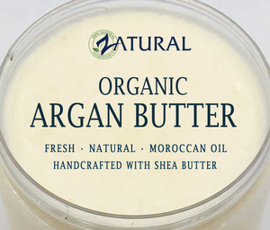 Zatural.com Therapeutic Skin Care Argan Butter - Organic Virgin