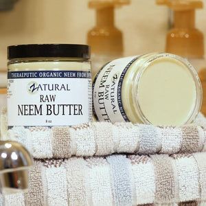 Zatural.com Therapeutic Skin Care Neem Butter w/ Organic Neem Oil from India