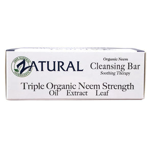 Zatural.com Therapeutic Skin Care Neem Soap with Organic Neem Oil- Lye-Free