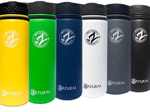 Zatural.com Vacuum Sealed Water Bottle