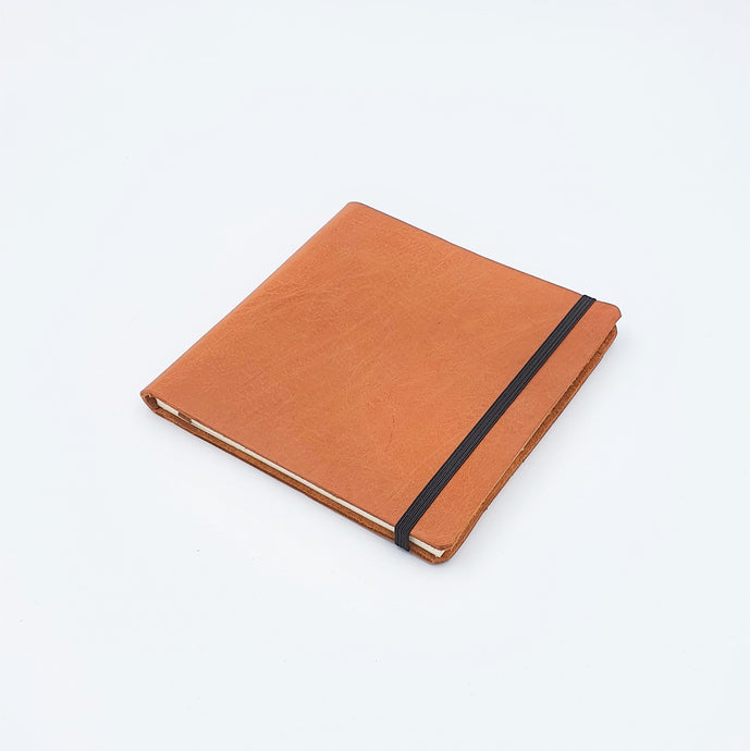 SOMERSET A6-SQ Premium Leather Watercolour Sketchbook