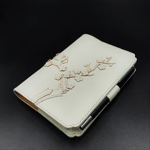 Studio Arkademie MING DH PLUM BLOSSOM A5 Portrait Notebook Sleeve, White