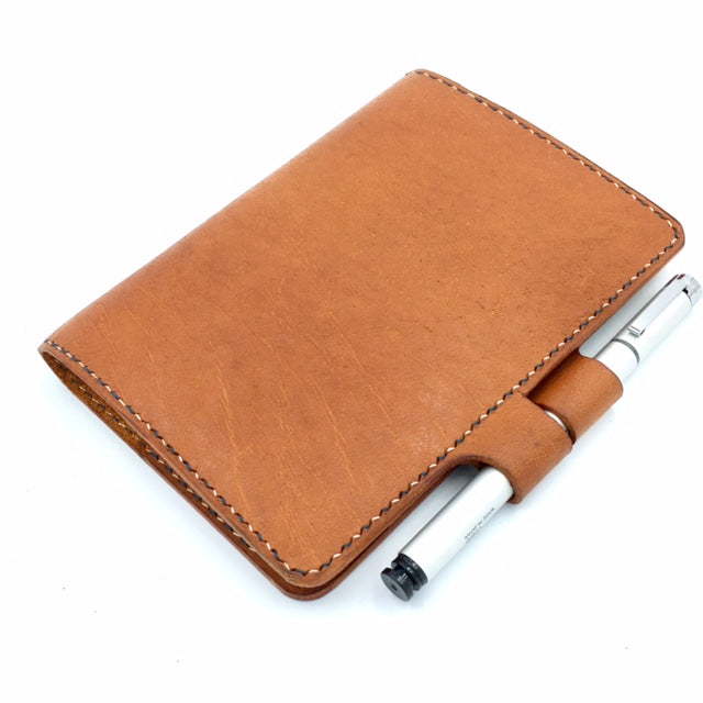 JAKOB A6-P Leather Notebook Sleeve with Lock