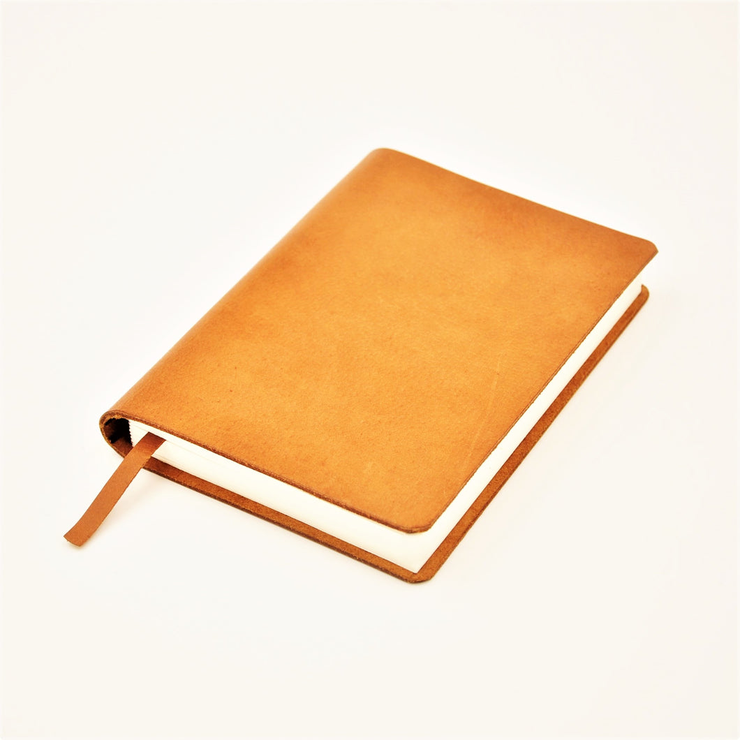 ACADEMY A6-P Leather Plain Designer's Journal