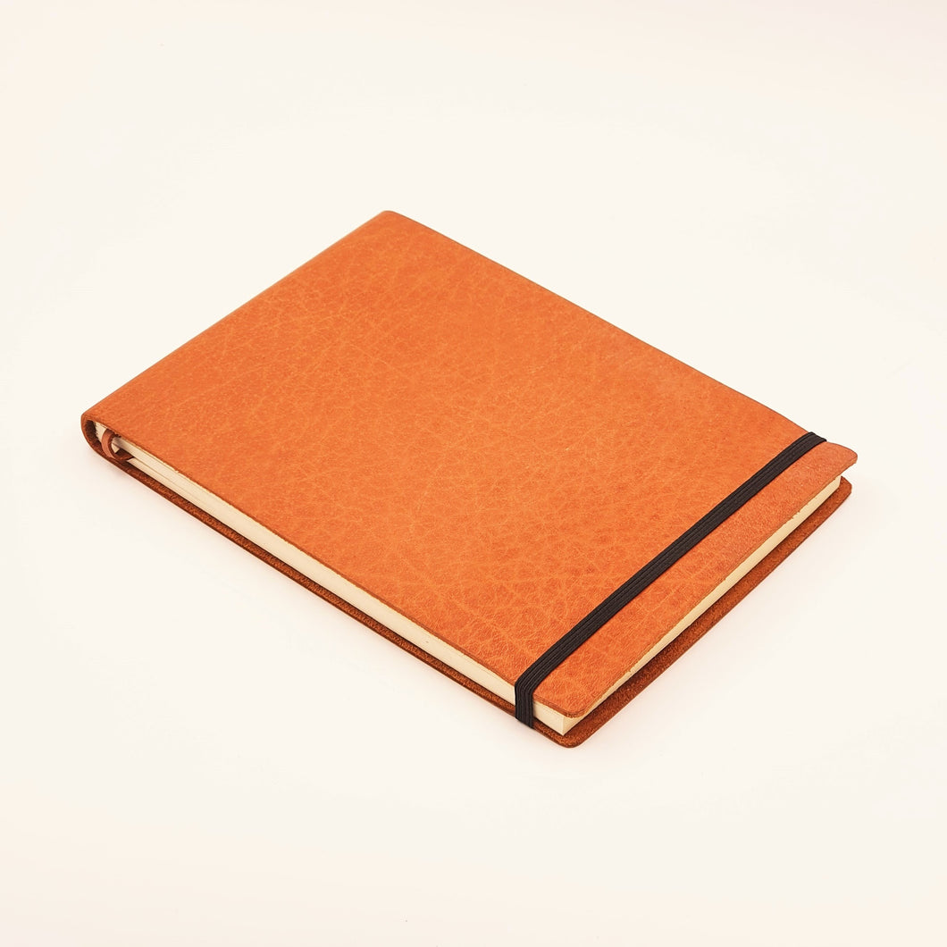 ANCONA A5-L Leather Archival Artist's Sketchbook