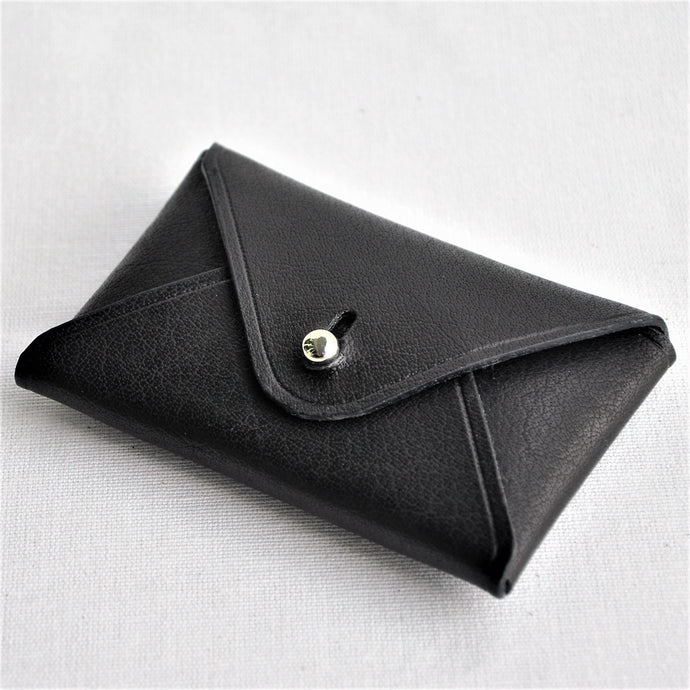 DRUCKER Leather Envelope Card Case